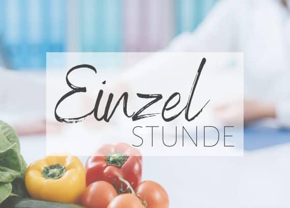 Individuelle Ernährungsberatung Einzelstunde in München von Tanja Maxeiner